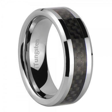 iTungsten Helios Men's Tungsten Wedding Ring