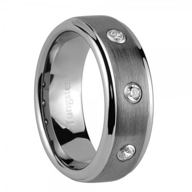 iTungsten Morpheus Men's Tungsten Wedding Ring