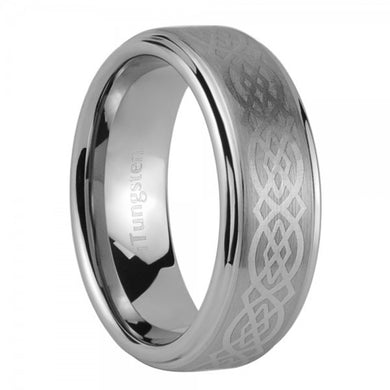 iTungsten Nereus Men's Tungsten Wedding Ring