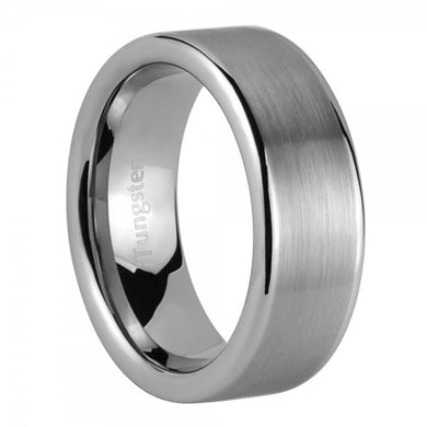 iTungsten Typhon Men's Tungsten Wedding Ring