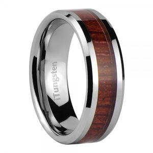iTungsten Caerus Men's Tungsten Wedding Ring