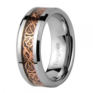 iTungsten Kratos Men's Tungsten Wedding Ring