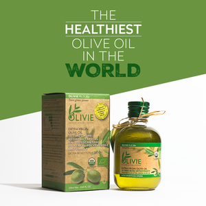 OLIVIE PLUS 30X is Dr Gundry polyphenols rich olive oil from Morocco Desert. Organic and healthiest!