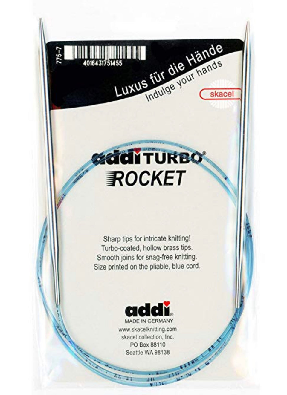 Addi Turbo Rocket Circular Needles