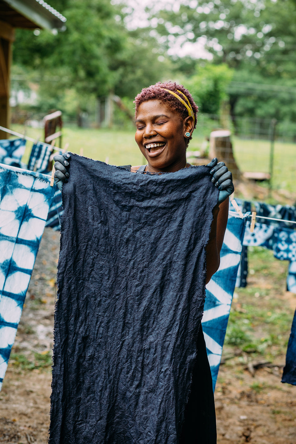 Exploring Indigo Dyeing and Shibori