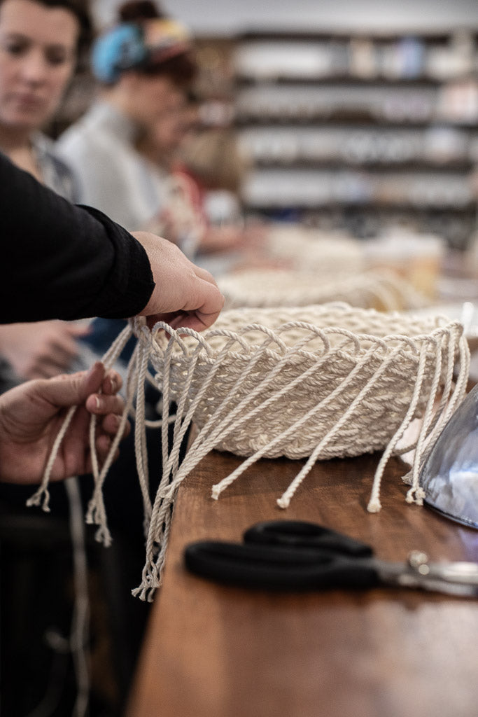 Twined Rope Bowl Workshop