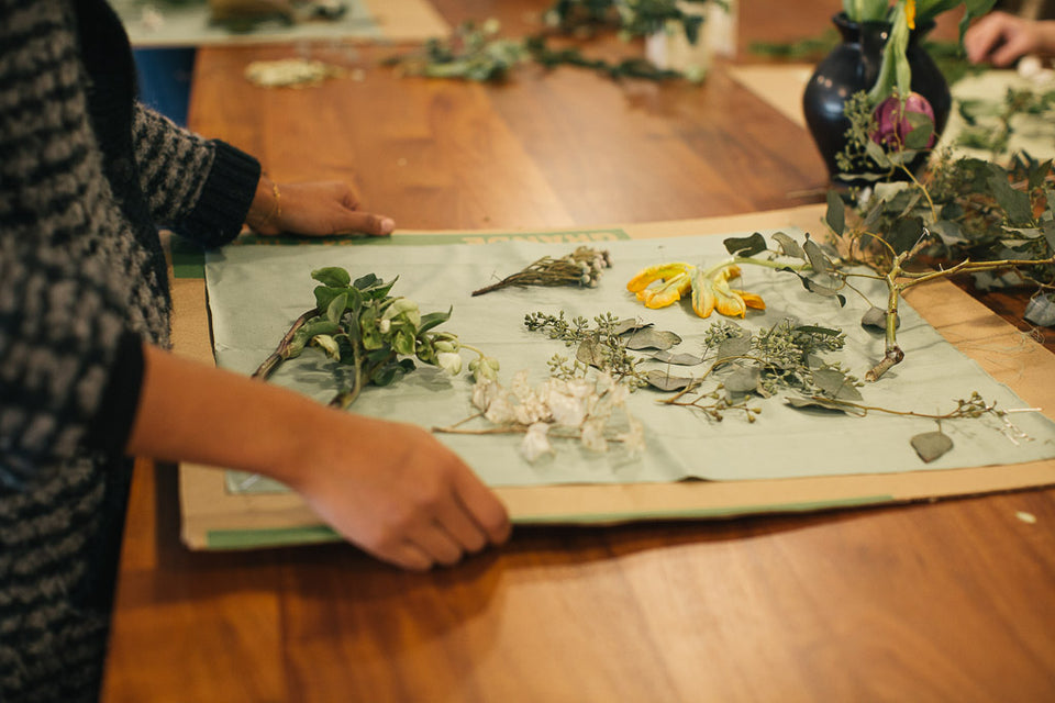 Botanical Cyanotype Workshop