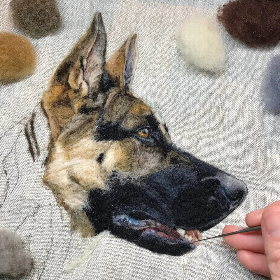 Painting with Wool