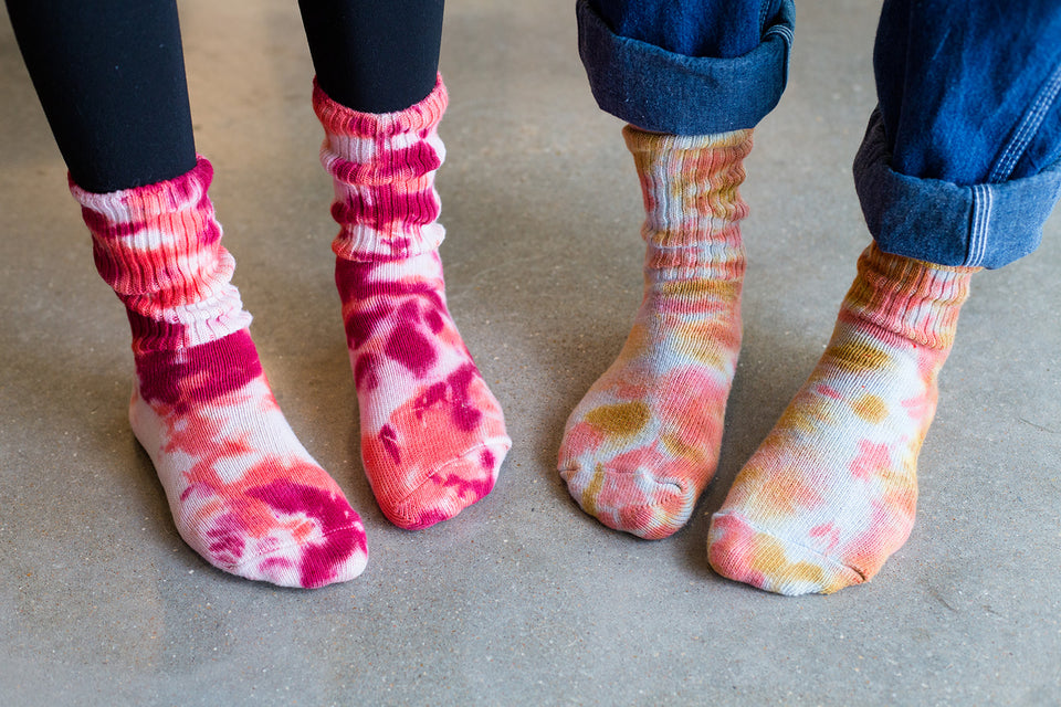 Tie Dye Sock Workshop!