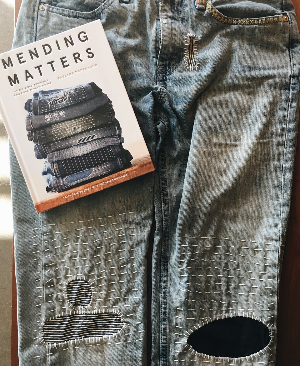 Mending in May Workshop