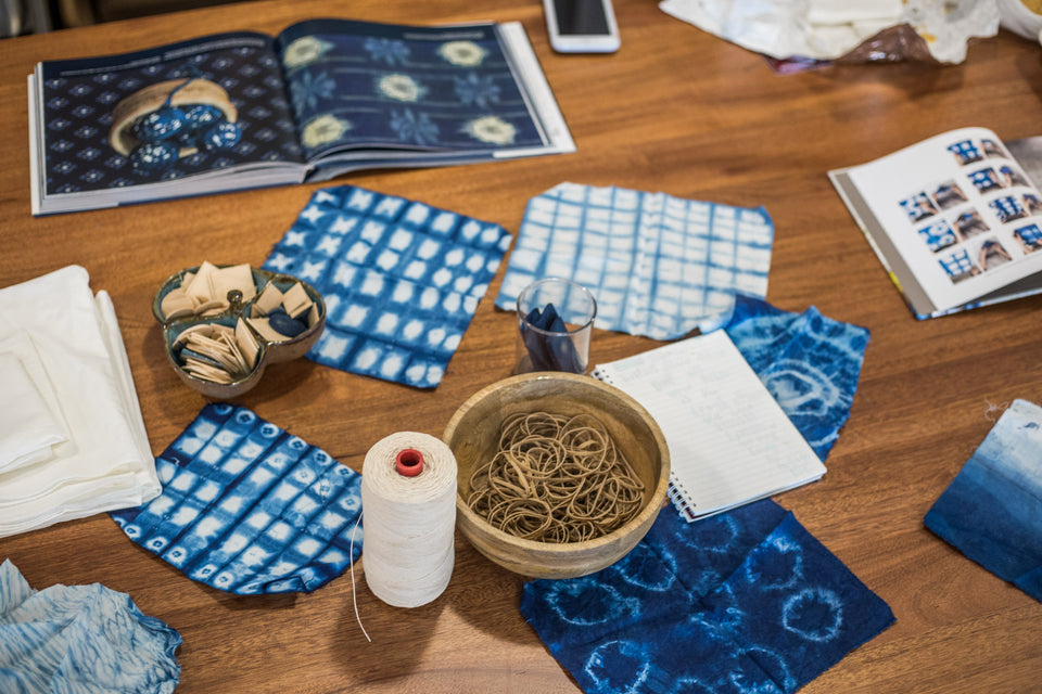 Indigo Dyeing Silk-Private Session