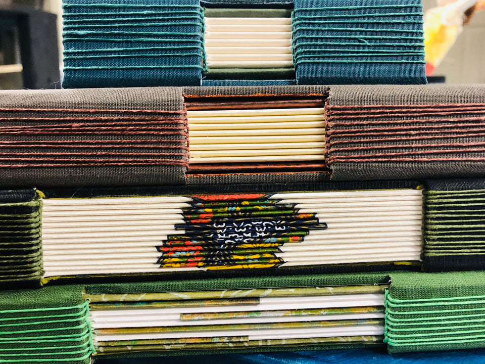 Buttonhole Bookbinding Workshop