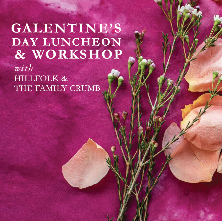 Galentine's Day Luncheon & Workshop