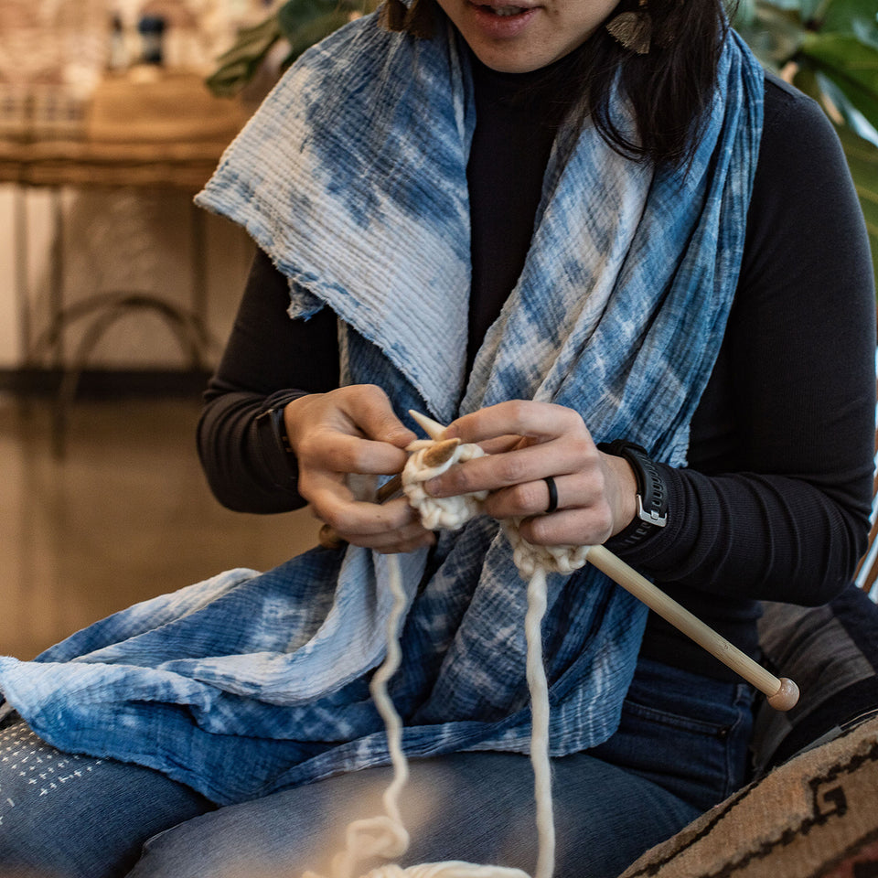Learn to Knit with Bea-March