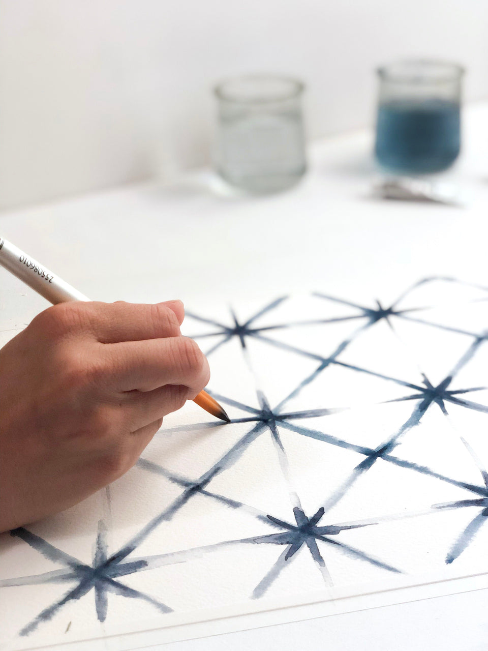Shibori Watercolor Painting Workshop