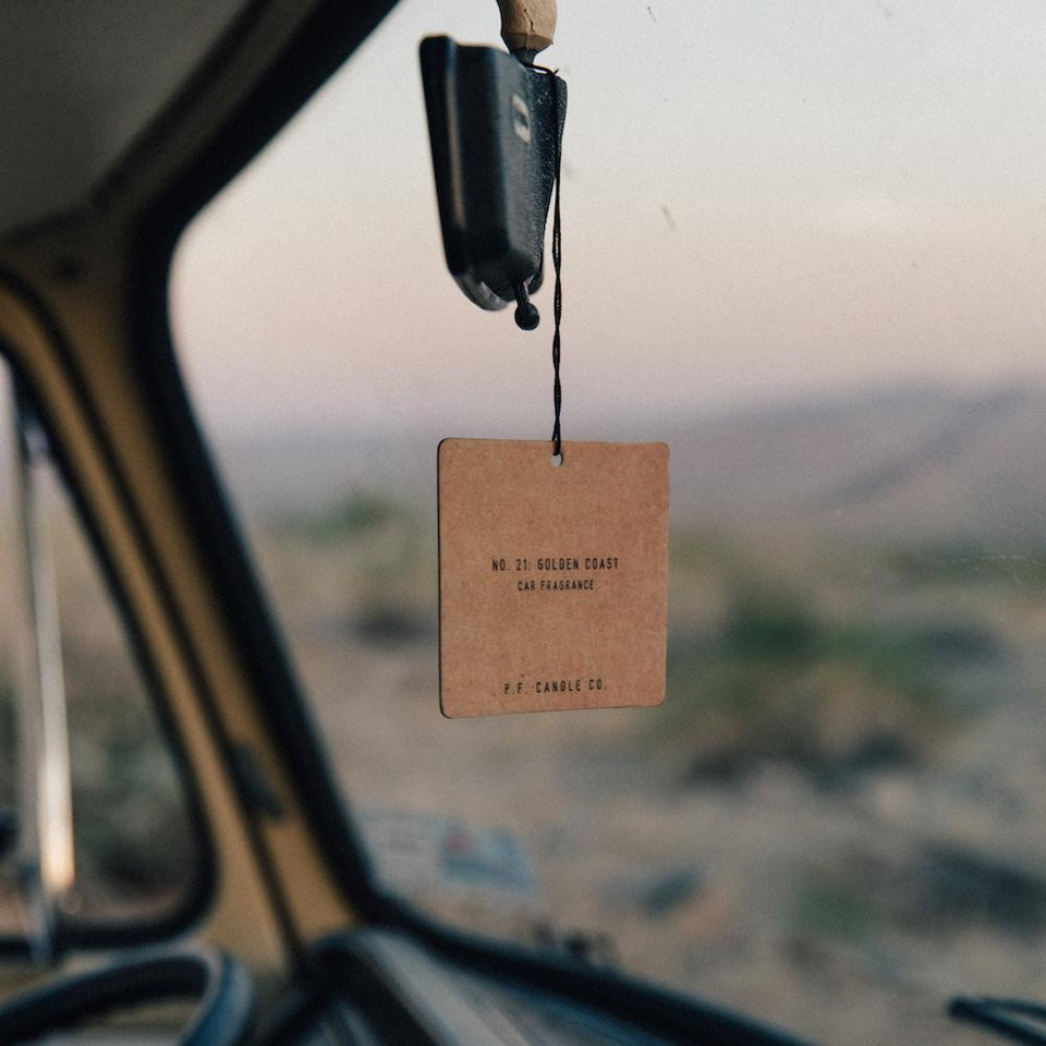 Car Fragrance: Golden Coast
