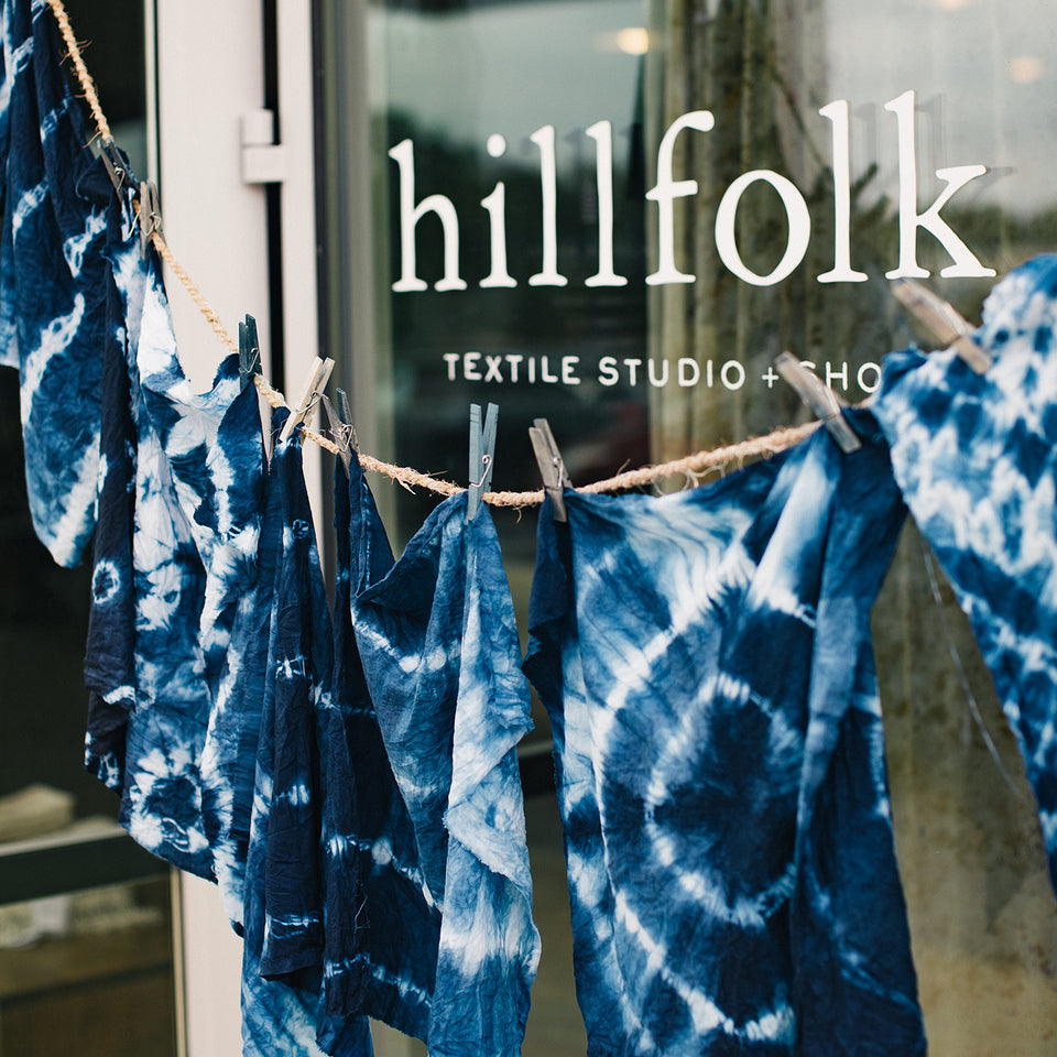 Indigo Dye a Scarf - Saturday