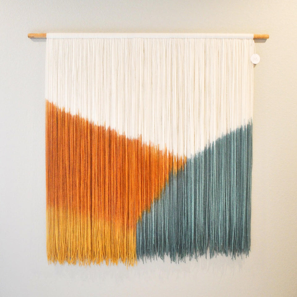 Hand Dyed Wall Hanging Workshop