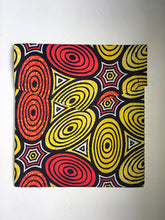 Red and Yellow - African Print Gift Bag