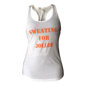 Tank Top - Sweating For Jollof Tank