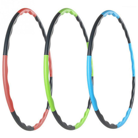 80 cm Removable Weight Loss Hard Tube Fitness Hula Hoops