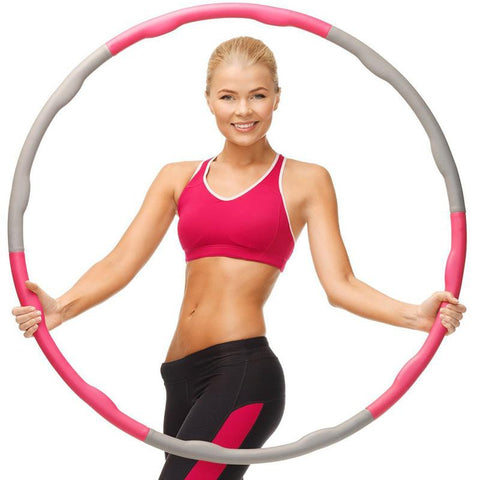 Detachable Fitness Foam Hula Hoop