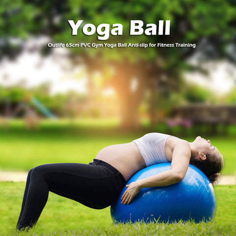 Yoga Ball Fitness 65 cm Pilates Balance Sports