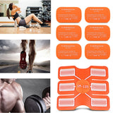4/10 PCS Replacement Gel Sheet Pad Muscles Training Body Massager