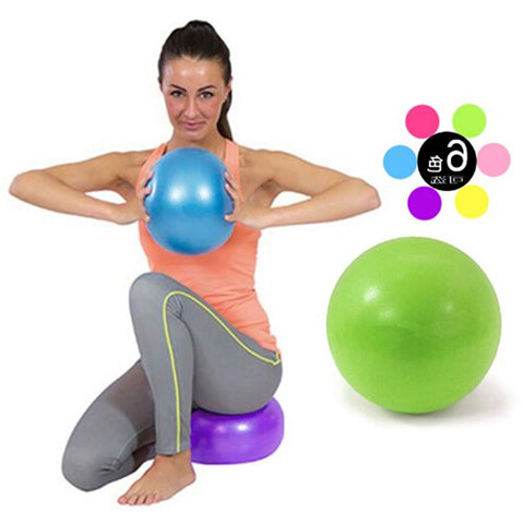 25 cm Yoga Ball Exercise Gymnastic Fitness