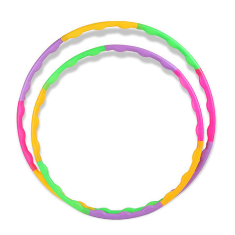 Adjustable Fitness Hula Hoop Colorful