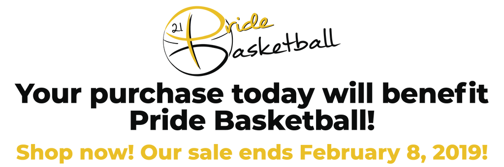 Pride Basketball Apparel Fundraiser