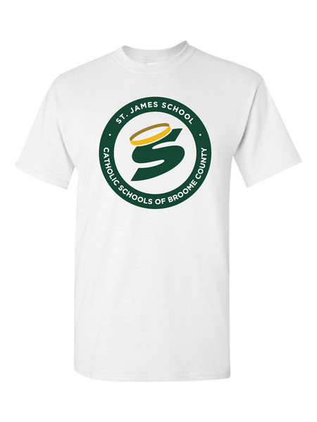 St. James School T-Shirt (White or Black)