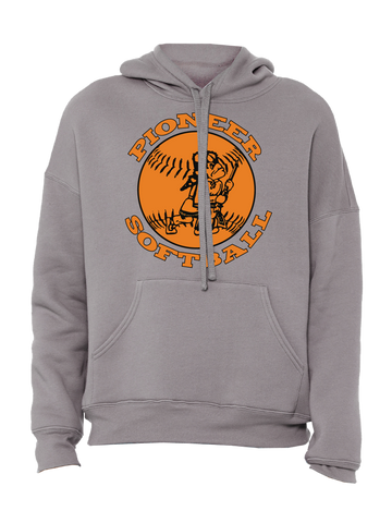 Batesville Softball Premium Hoodie (Gray or Black)