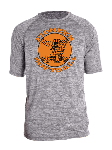 Batesville Softball Premium Performance T-Shirt (Gray or Black)