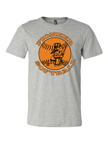 Batesville Softball Premium T-Shirt (Gray or Black)