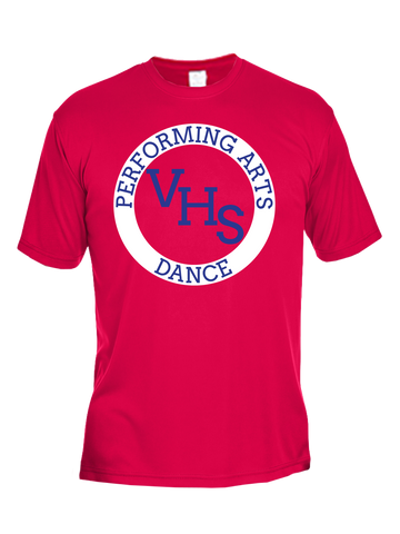 VHS Dance Performance T-Shirt (Red or White)