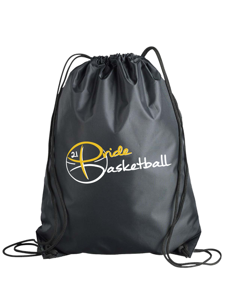 Pride Basketball Cinch Bag