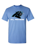 STL Panthers Basketball T-Shirt (Blue or Black)