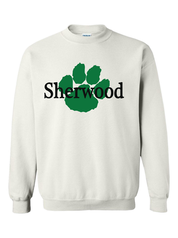 Sherwood Elementary Crewneck (White or Gray)