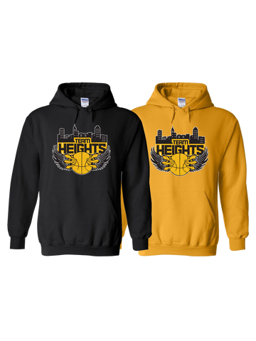 Temple Heights Girls Hoodie (Black or Gold)