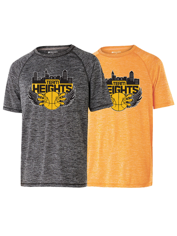 Temple Heights Boys Performance T (Black or Gold)