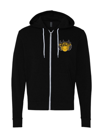 Temple Heights Girls Premium Zip Hoodie