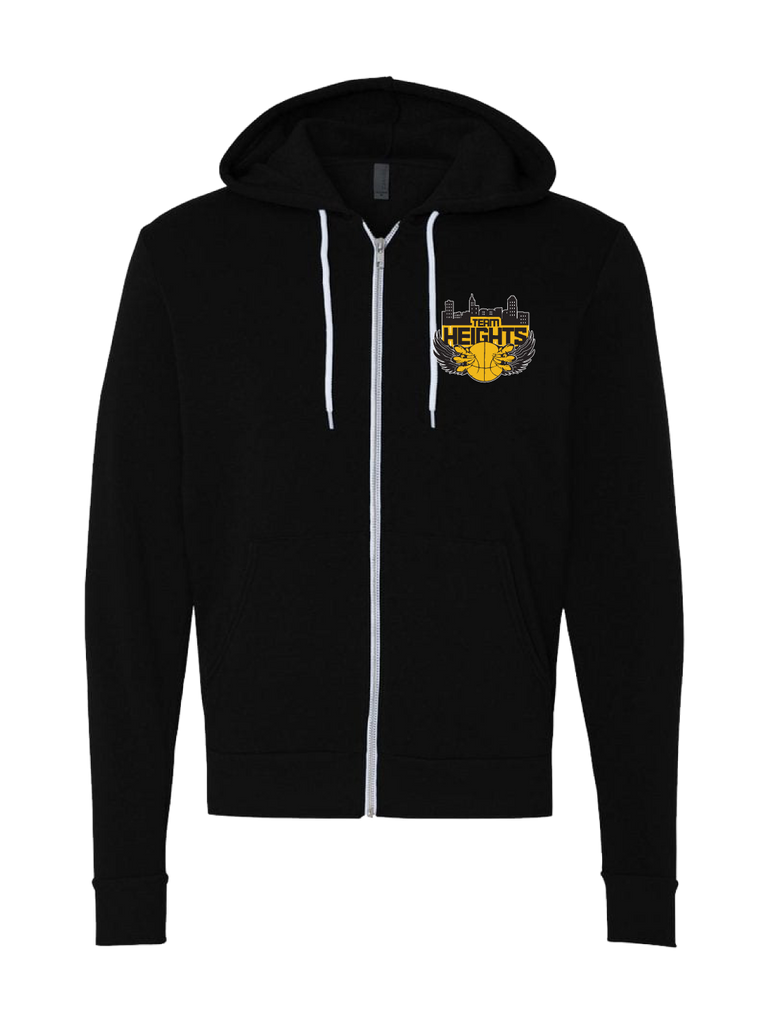Temple Heights Premium Zip Hoodie