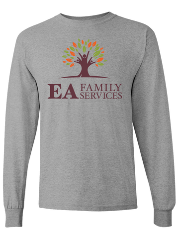 EA Family Services Long Sleeve T-Shirt (Gray or Black)