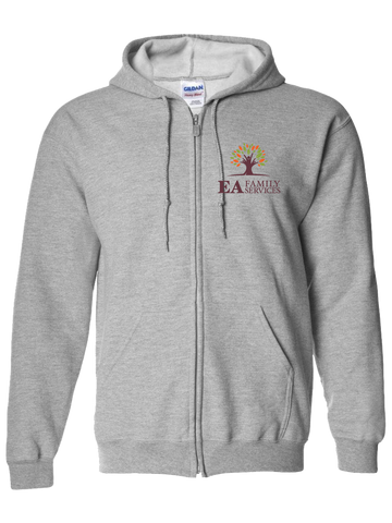 EA Family Services Zip Hoodie (Gray or Black)