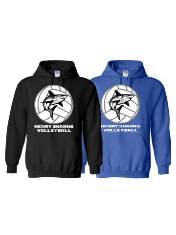 Henry Sharks Volleyball Hoodie