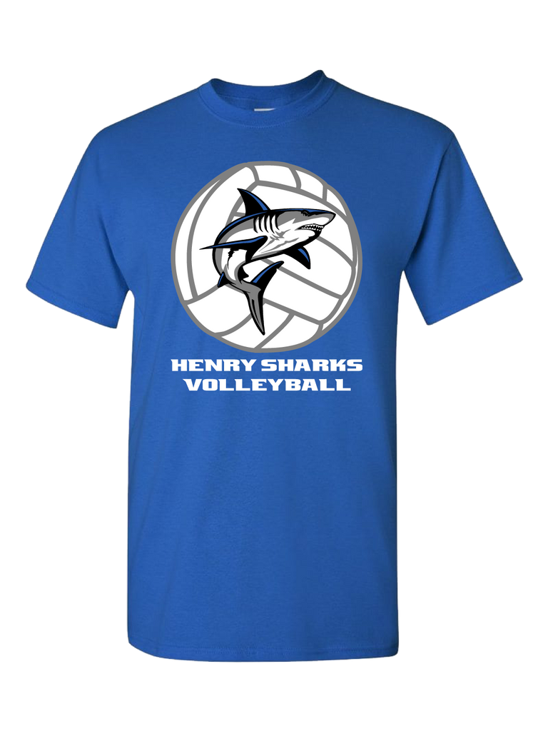 Henry Sharks Volleyball T-Shirt