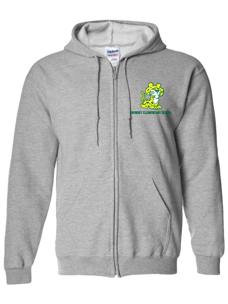 Lottie Grunsky Elementary Zip Hoodie (Gray or Black)