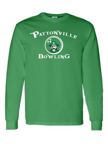 Pattonville Bowling Long Sleeve T-Shirt (Green or Black)
