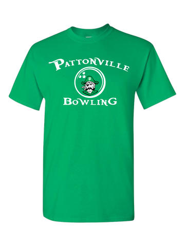 Pattonville Bowling T-Shirt (Green or Black)
